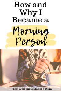 How and Why I Became a Morning Person (1)