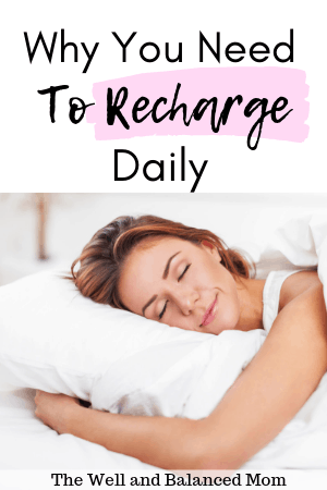 why you need to recharge daily