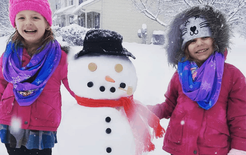 how to make a great snow day with kids