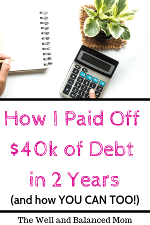 How I Paid off $40k of debt in 2 years (1)