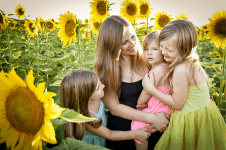 paying off debt with kids