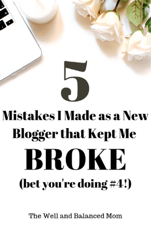 5 mistakes that kept me broke as a new blogger (1)
