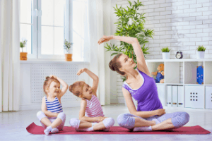 Wellness activities for busy moms