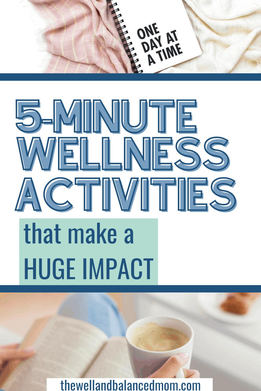 wellness activities for moms pin